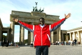 Paul Tergat in Berlin. © Victah Sailer