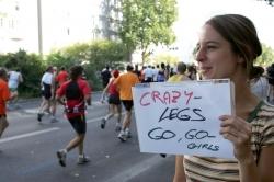 In einem Jahr können Sie Marathon laufen