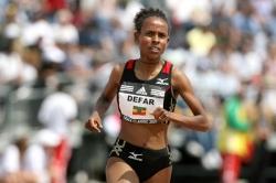 """Weltrekordlerin Meseret Defar:  """"In Äthiopien lernt man, sich zu überwinden"""""""