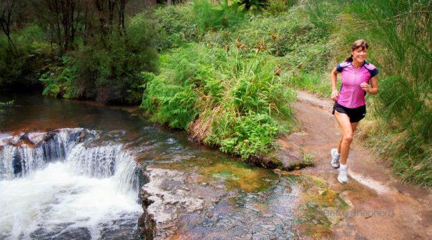 Laufen und Training an warmen Sommertagen