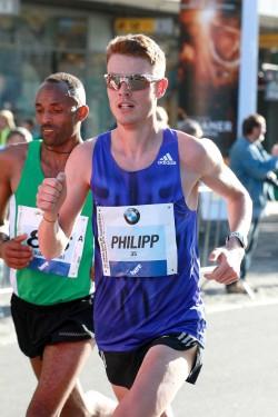 Philipp Pflieger lief in Berlin eine deutsche Jahresbestzeit. ©www.PhotoRun.net