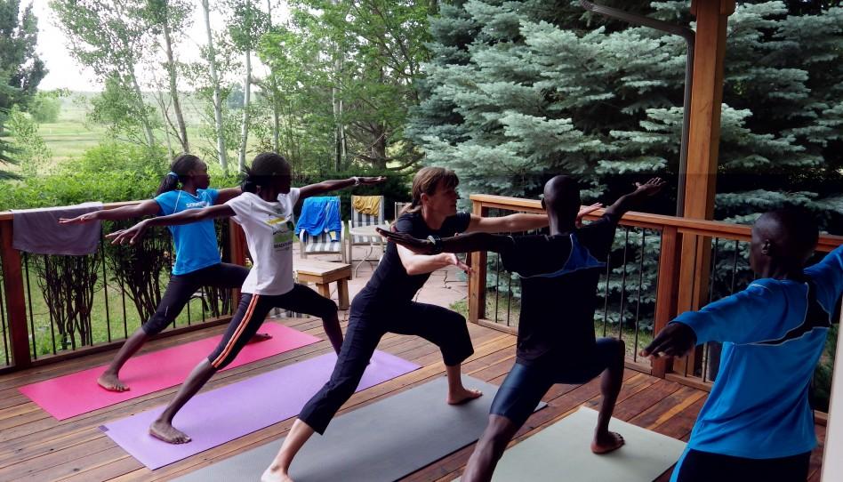 Grüβe von Uta: Yoga-Pose der Woche – 4. Kriegerstellung 2