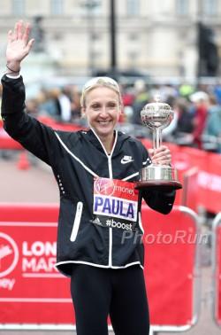 Paula Radcliffe wurde in London für ihr Lebenswerk ausgezeichnet. ©www.PhotoRun.net