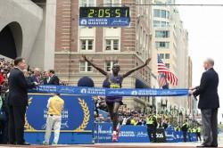 Robert Kiprono Cheruiyot hat in Boston bereits 2010 einmal gesiegt. ©www.PhotoRun.net