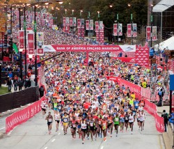 Der Start des Chicago-Marathons 2012. © Bank of America Chicago Marathon