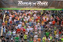 The start of the New Orleans Half Marathon. ©www.PhotoRun.net