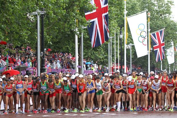 Olympia aktuell: Tiki Gelana gewinnt Marathon in olympischer Rekordzeit
