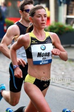 Mona Stockhecke verbesserte ihre persönliche Bestzeit. ©www.PhotoRun.net