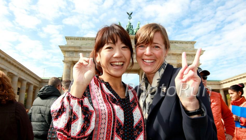 Uta erinnert daran, wie sehr der Berlin-Marathon einst die Geschichte veränderte – und ihr Leben