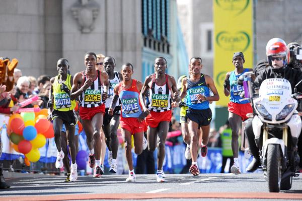 Auf den Straßen der World Marathon Majors