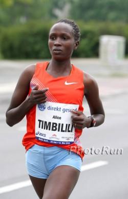 Alice Timbilil, hier zu sehen bei den BIG 25 Berlin 2010, siegte in São Paulo mit einem Streckenrekord. © www.photorun.net