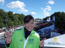Good luck for your tapering period. Berlin Marathon 2013. © Take The Magic Step
