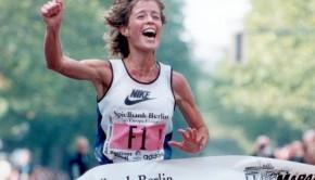 """Berlin-Marathon 1995: """"Ich widme dieses Rennen den Menschen in Berlin."""""""