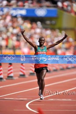 Sammy gewinnt den olympischen Marathon 2008 in Peking. ©www.photorun.net