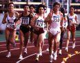 Uta (rechts) im 10.000m-Meter-Finale bei den Weltmeisterschaften in Stuttgart, August 1993. © Rhein-Ruhr-Foto/Gustav E. Schöder